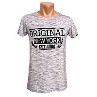 Стильна футболка чоловіча New York - №2248