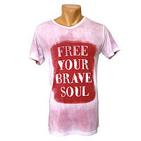 Крута чоловіча футболка Free Your Drave Soul - №2251