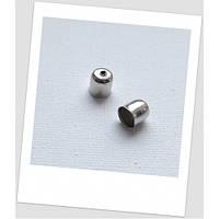 Концевик-колпачок металлический, стальной, 5 мм х 6 мм