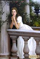 Набор папертоль Девушка у балюстрады