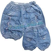 Шорты для девочек PaHHB1230 джинс 6 шт (6-12 лет)
