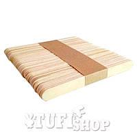Шпатель лопатка косметологический YRE MINI деревянный 50 шт