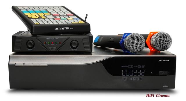 AST-50 Base профессиональная караоке система AST Karaoke с двумя микрофонами