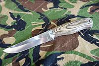 Нож для охотника среднего размера ,бюджетный вариант .