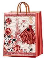 Подарочные пакеты с женской тематикой 38х24см( 12шт/упаковка)Харьков, Барабашово
