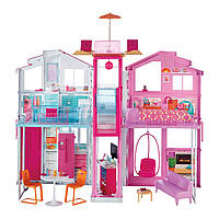 Городской дом мечты Барби Малибу с лифтом Barbie Pink Passport 3-Story Malibu Townhouse