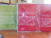 Набор махровых полотенец 70*140+50*90+30*50 бамбук ERMET