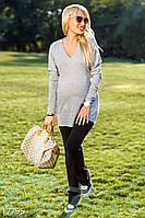 Теплые брюки беременной (Черный)