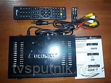 Супутниковий HD ресивер Eurosky ES-4060HD (картоприймач, прошитий з каналами), фото 2