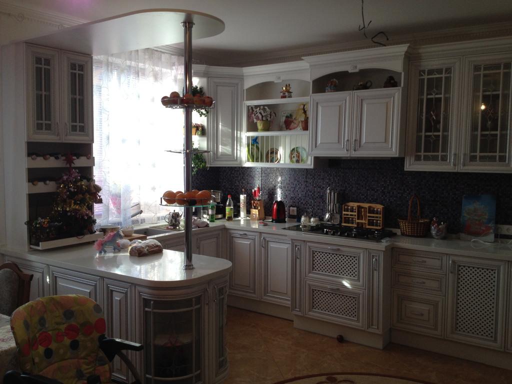 Фото №2 кухни Фламиния у заказчика.