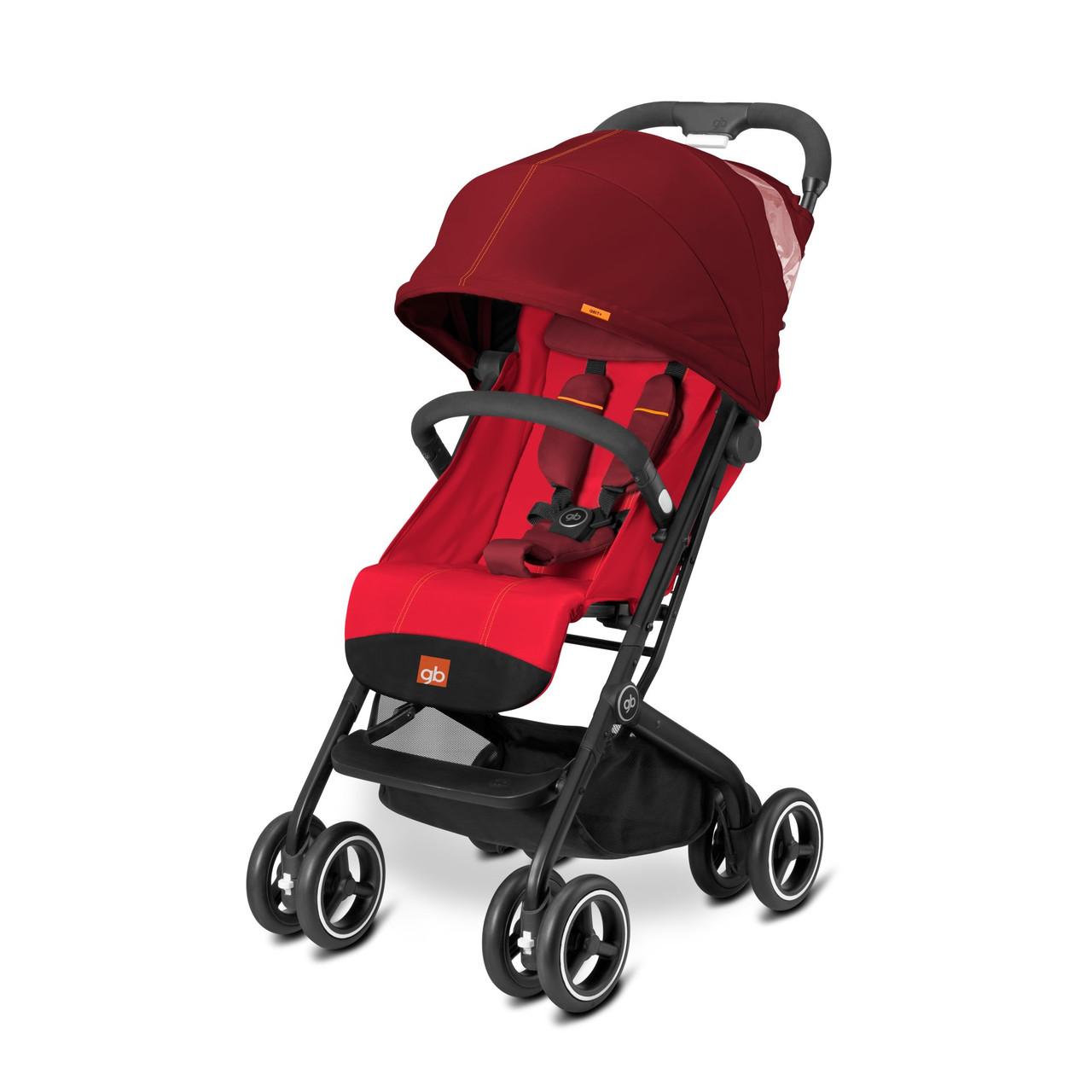 Прогулочная коляска «gb» Qbit+ (616240009), цвет Dragonfire Red (красный) «gb» (616240009)