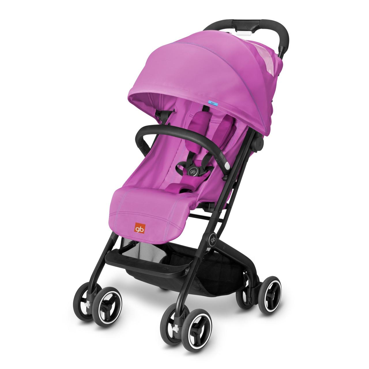Прогулянкова коляска «gb» Qbit (616240006), колір Posh Pink (рожевий) «gb» (616240006)