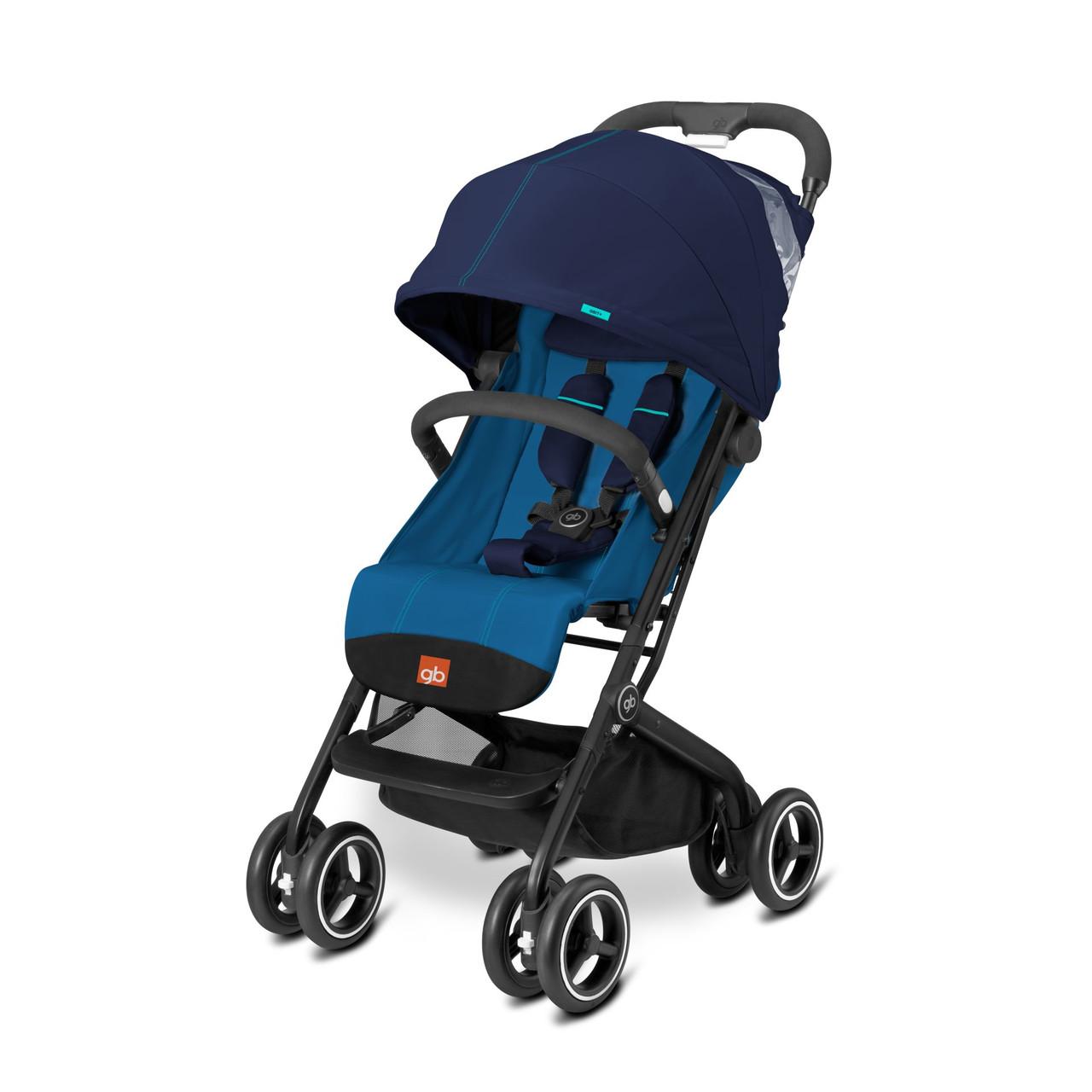 Прогулянкова коляска «gb» Qbit+ (616240010), колір Sea Port Blue (темно-синій) «gb» (616240010)