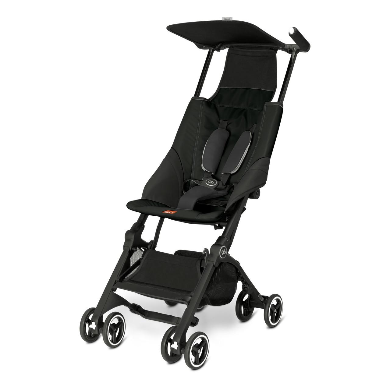 Прогулочная коляска «gb» Pockit, цвет Monument Black (чёрный) (616230001) «gb» (616230001)