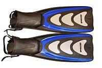 Ласты профессиональные ботинок на ремешке размер (40-43), фото 1