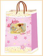 Детские подарочные пакеты размер 38х24 см ( 12 шт/упаковка)Харьков.