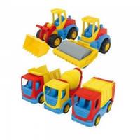 "Машинка Wader Tech Truck ""Городские службы"" 35310"