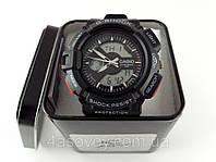 Часы мужские G-Shock - черные в металлическом тубусе, водозащита 3Bar, фото 1