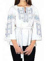 Вышиванка женская белая Лазурь (Женские и мужские вышиванки)