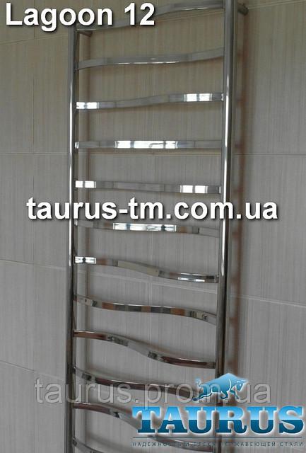 Полотенцесушитель Lagoon 12 для ванной комнаты / 500 мм.