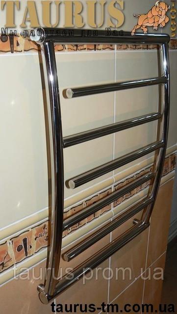 Полотенцесушитель Atlantica 6  ширина 450 мм.в ванную комнату.