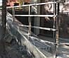 Перила из нержавеющей стали с профильной трубы (квадратной), фото 5