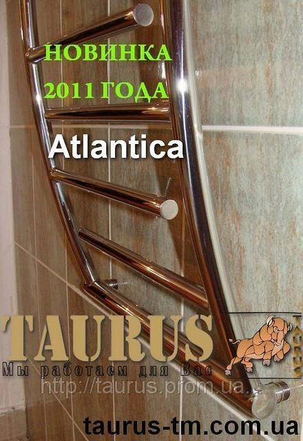 Симпатичный полотенцесушитель Atlantica 12/500 из нержавеющей стали в стильную ванную комнату