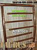 Симпатичный полотенцесушитель Atlantica 12/500 из нержавеющей стали в стильную ванную комнату, фото 2