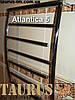 Симпатичный полотенцесушитель Atlantica 12/500 из нержавеющей стали в стильную ванную комнату, фото 4