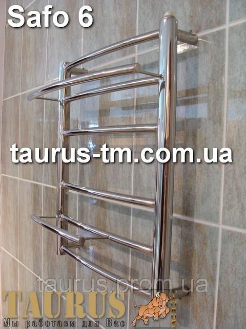 Полотенцесушитель Safo 6/450 мм для ванной комнаты высота 500 м