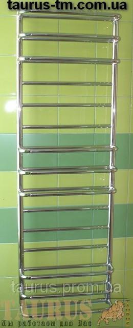 Громадный полотенцесушитель н/ж Comfort 15-9 /1550х500 мм для большой ванной комнаты. 2 ряда трубок