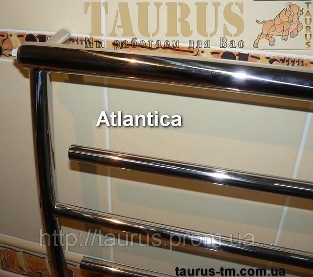 Практичный полотенцесушитель Atlantica 6/500 из нержавеющей стали в ванную комнату
