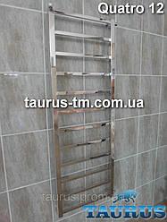 Длинный полотенцесушитель Quatro 12 ширина 500 мм (все из квадратных и прямоугольных труб). Украина, Смела