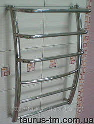 Полотенцесушитель с полочкой Breeze 6-3/500 из нержавеющей стали (Украина, Смела)
