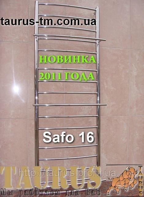 Полотенцесушитель Safo 16/500 из нержавеющей стали.