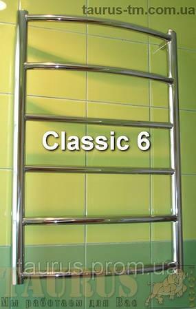 Купить новый Полотенцесушитель Classic 6 / 400мм  высота 650 мм.