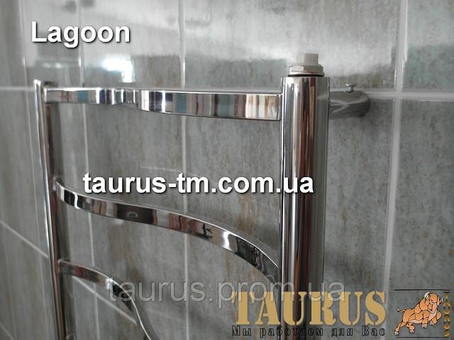 Дизайнерский полотенцесушитель Lagoon 11/500  от ТМ TAURUS.