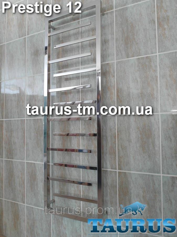 Водяной, электро и гибрид, полотенцесушитель Prestige 12 /1350 x 450 мм для ванной комнаты.