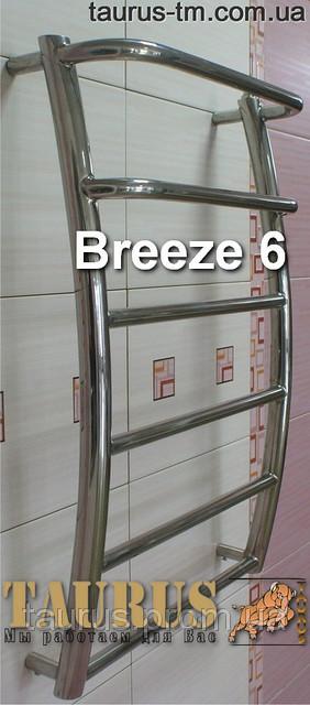Купить новый полотенцесушитель Breeze 6-3. Ширина 450 мм.