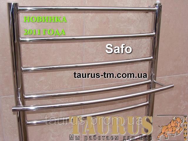 Купить нержавеющий  полотенцесушитель Safo 5/450, высота 400 мм.