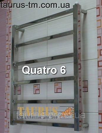 Полотенцесушитель Quatro 6/400 высота 650 мм.