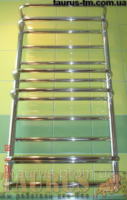 Высокий полотенцесушитель Comfort 10-6/ 1050х450 в ванную комнату. 2 ряда горизонтальных труб d20