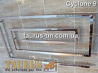 Уникальный нержавеющий полотенцесушитель Cyclone 9/1200 для большой современной ванной комнаты