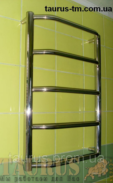 Электрический полотенцесушителя Standart 5/500. Высота 550 мм.