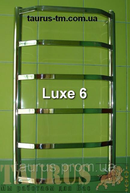 Полотенцесушитель из нержавейки Luxe 6 высота 450 мм.