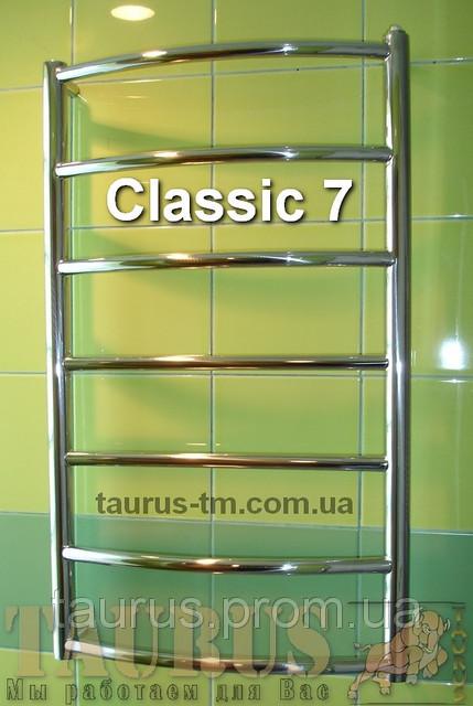 Универсальный полотенцесушитель в ванную комнату Classic 7/500. Доставка.