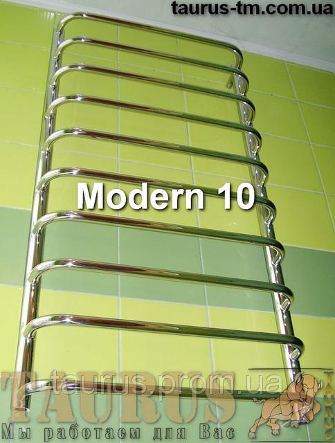 Узкий полотенцесушитель Modern 10/400 мм.