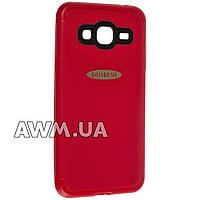 Накладка силиконовая для Samsung Galaxy J3 (J320) красный