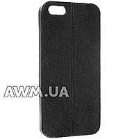 Чехол накладка для Apple iPhone 5 /5S /SE черный