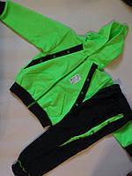 Спортивный костюм Салатик двухнитка